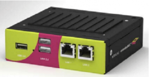 Schroff embeddedNUC™ Case with Integrated Cooling Solution