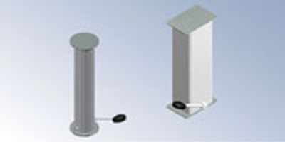 Guide Column with Integrated Hydraulic Pump